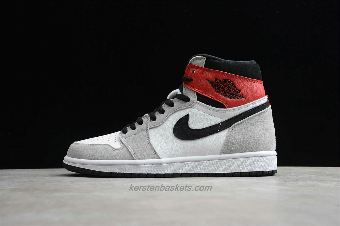air jordan 1 gris et rouge